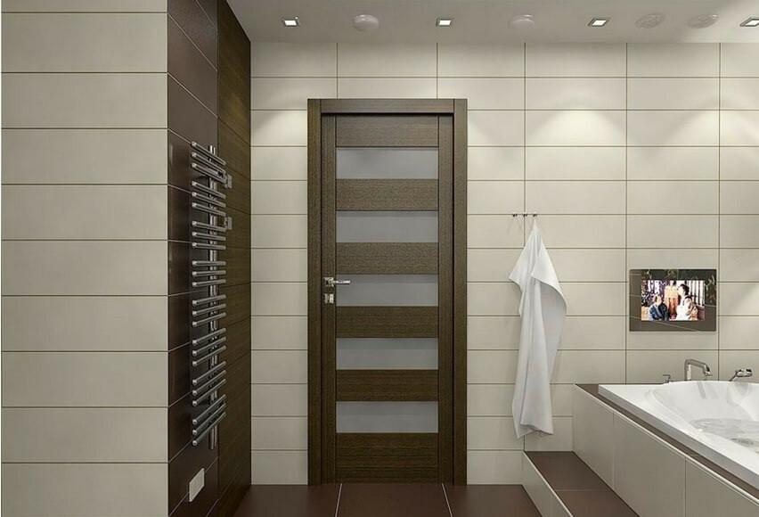 Bathroom Door Design  Modern bathroom door design ideas materials and size2019