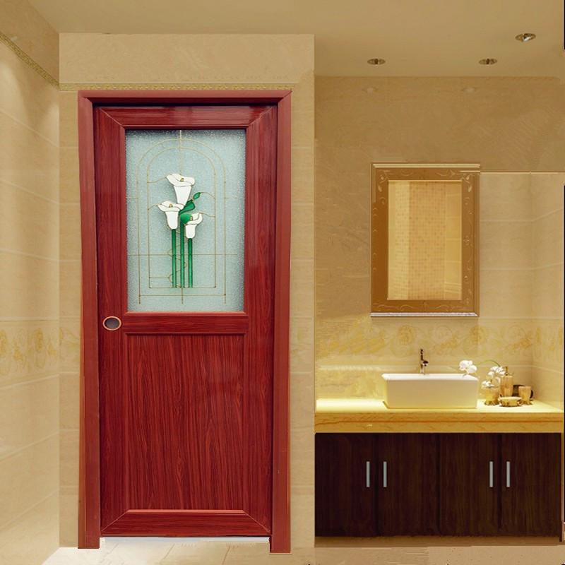 Bathroom Door Design  Durable Toilet Pvc Door Design Bathroom Glass Door Wk p016