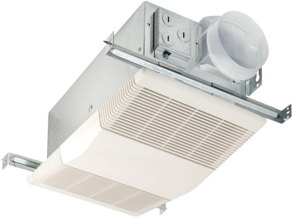 Bathroom Exhaust Fan With Heater  Heat A Vent 70 CFM Ceiling Exhaust Bath Fan W 1300 Watt