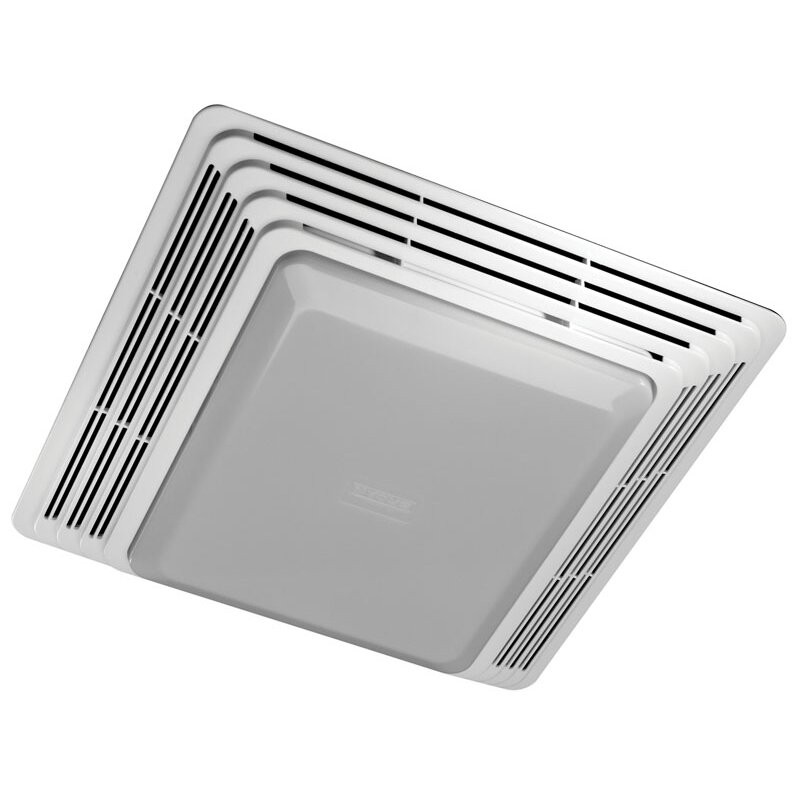 Bathroom Vent And Light  Broan 50 CFM Bathroom Exhaust Fan with Light & Reviews