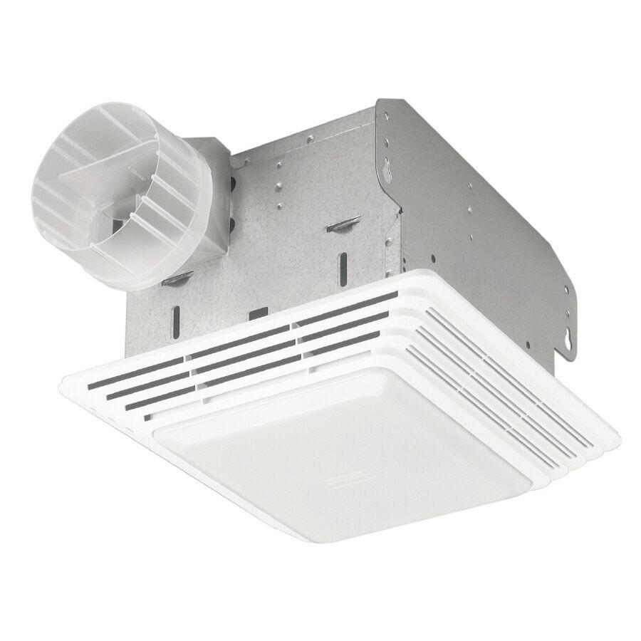 Bathroom Vent And Light  Broan Ceiling Exhaust Bath Fan 50 CFM with Light Bathroom
