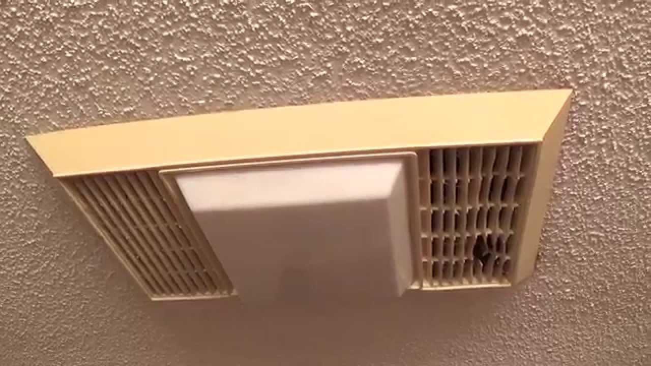 Bathroom Vent And Light  Vintage Miami Carey Bathroom Exhaust Fan