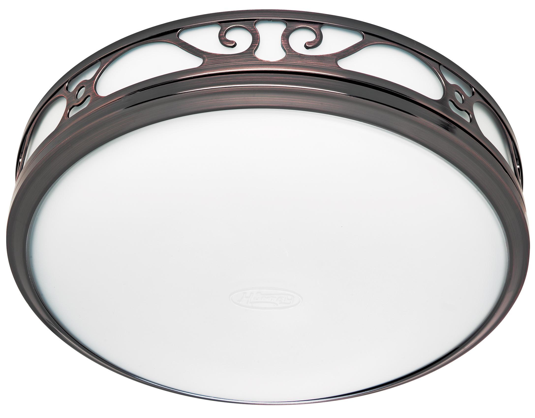 Bathroom Vent And Light  Hunter Ventilation Sona Bathroom Exhaust Fan with