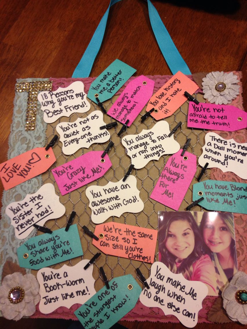 Bday Gift Ideas For Best Friend  Pin on Bestfriend