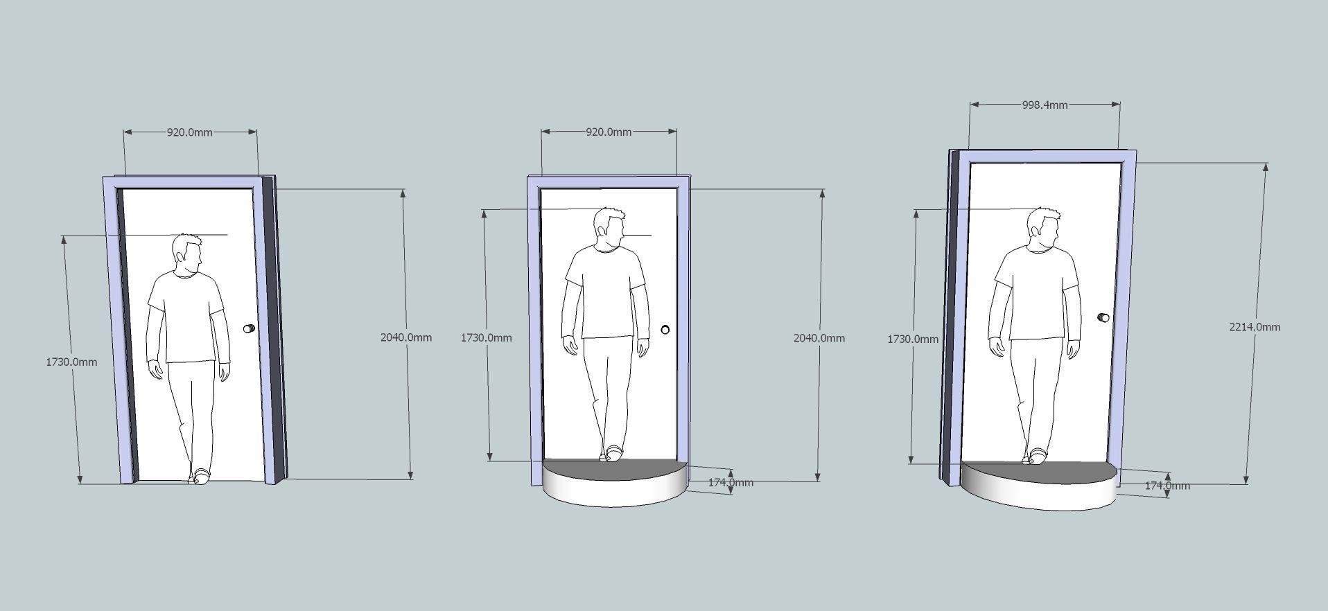 Bedroom Door Dimensions  standard door sizes Google Search With images
