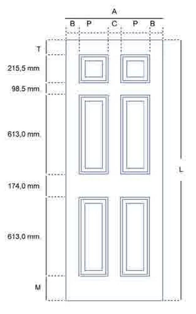 Bedroom Door Dimensions  Standard Interior Door Height Uk