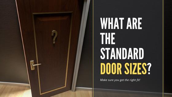 Bedroom Door Dimensions  What are the Standard Door Sizes in your Country