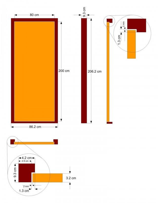 Bedroom Door Dimensions  How to Measure a Door What is standard door width