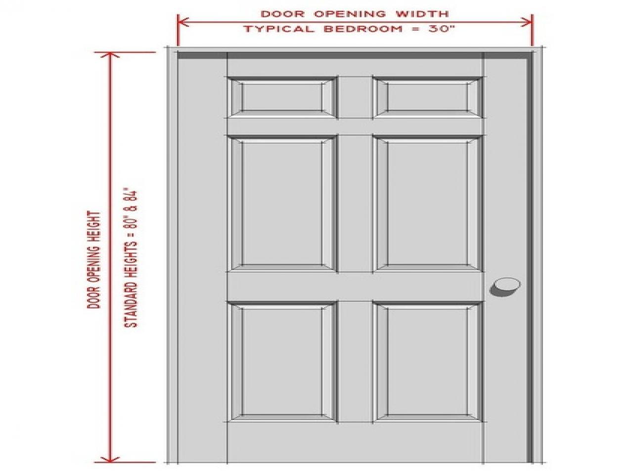 Bedroom Door Dimensions  Door Size Mm & Double Doors Width Nice Standard Interior
