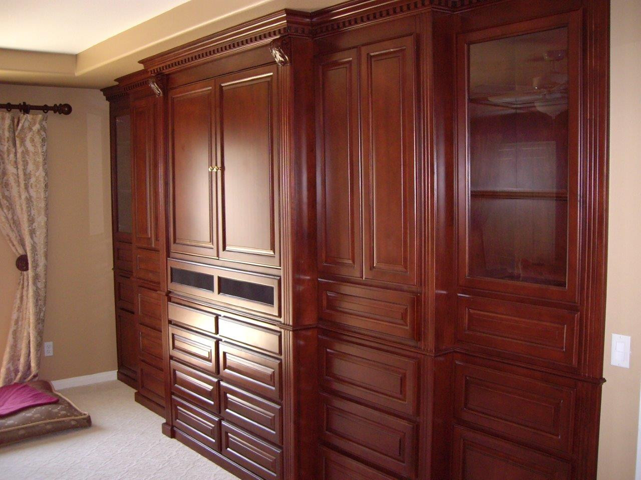 Bedroom Wall Storage Cabinets  Murphy Beds and Bedroom Cabinets Woodwork Creations