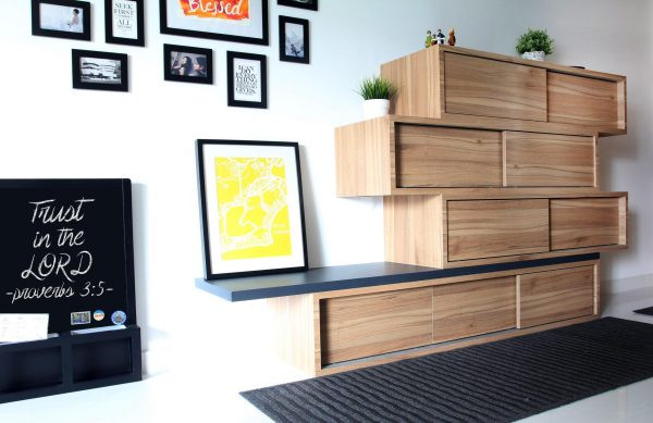 Bedroom Wall Storage Cabinets  53 Insanely Clever Bedroom Storage Hacks And Solutions