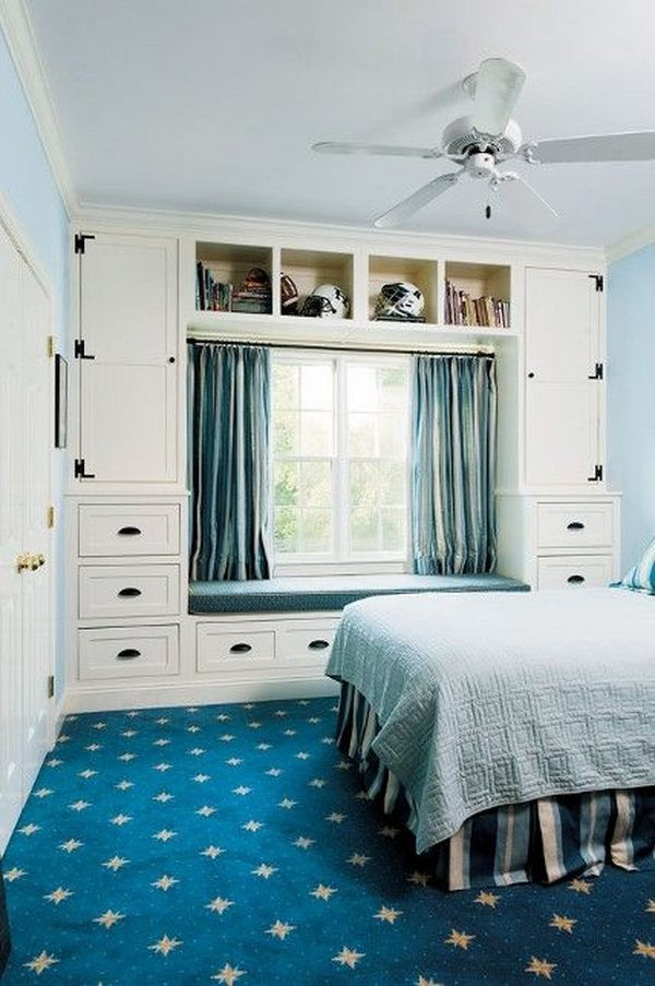 Bedroom Wall Storage Cabinets  Storage ideas for small bedrooms to maximize the space