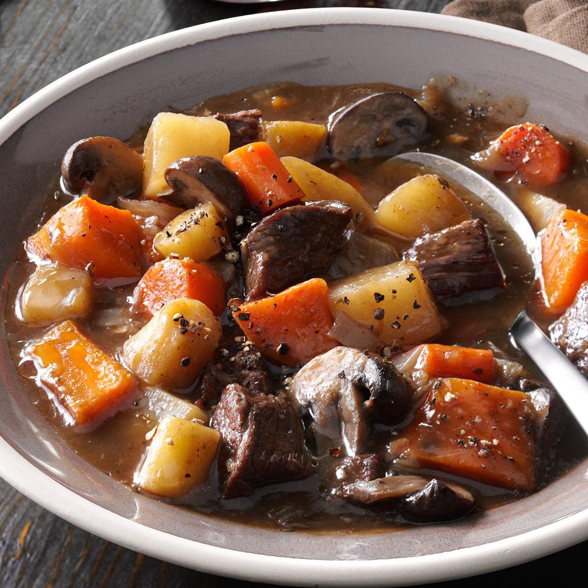 Beef And Sweet Potato Stew  Hearty Beef & Sweet Potato Stew Recipe