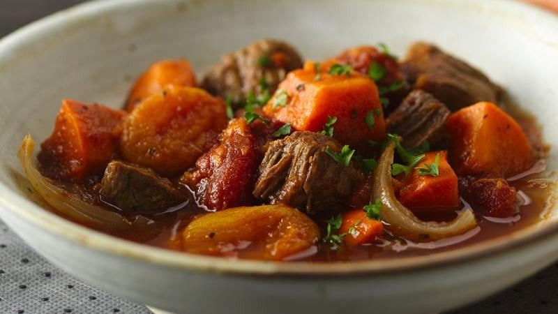 Beef And Sweet Potato Stew  Slow Cooker Colombian Beef and Sweet Potato Stew recipe