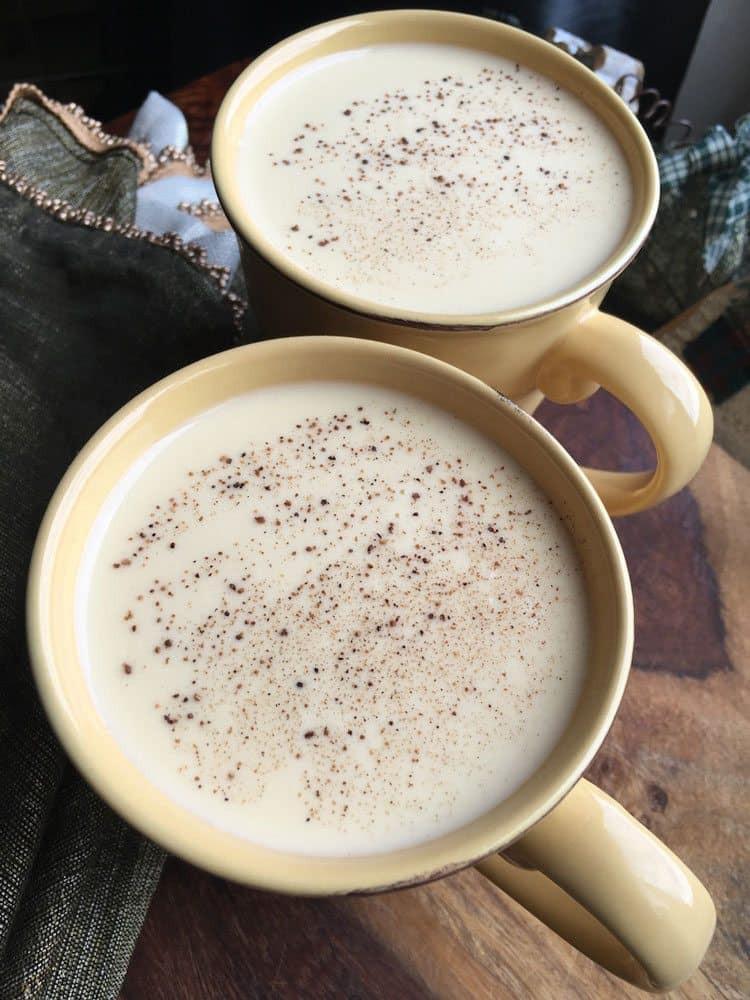 Best Homemade Eggnog  Homemade Non Alcoholic Eggnog Recipe or Add Alcohol if