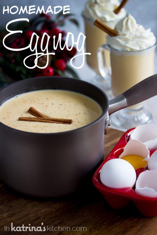 Best Homemade Eggnog  Best Homemade Eggnog