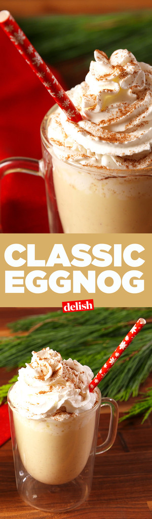 Best Homemade Eggnog  Best Homemade Eggnog Recipe How to Make Classic Eggnog