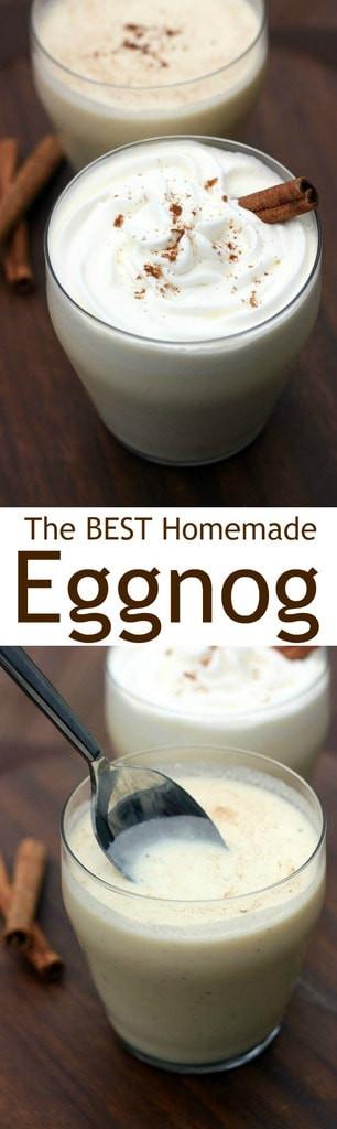 Best Homemade Eggnog  Homemade Eggnog Tastes Better From Scratch