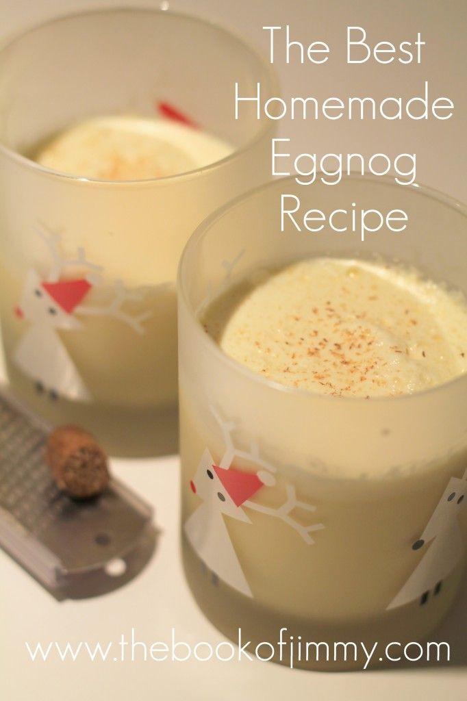Best Homemade Eggnog  Best Homemade Eggnog Recipe