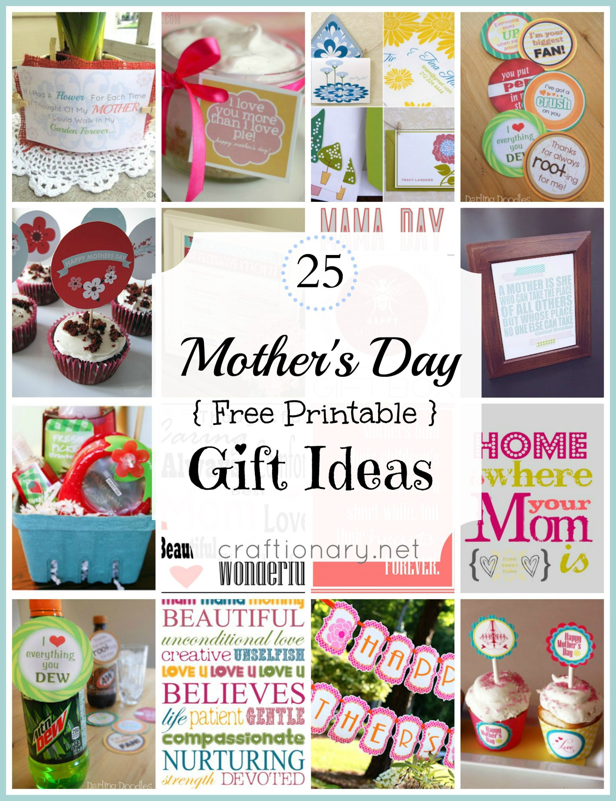 Best Mother Day Gift Ideas  Craftionary