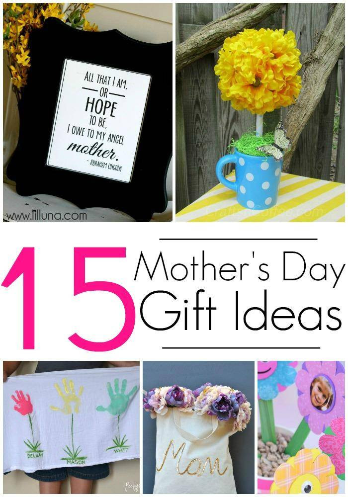 Best Mother Day Gift Ideas  15 DIY Gift Ideas for Mothers Day Crafts & Homemade Gifts