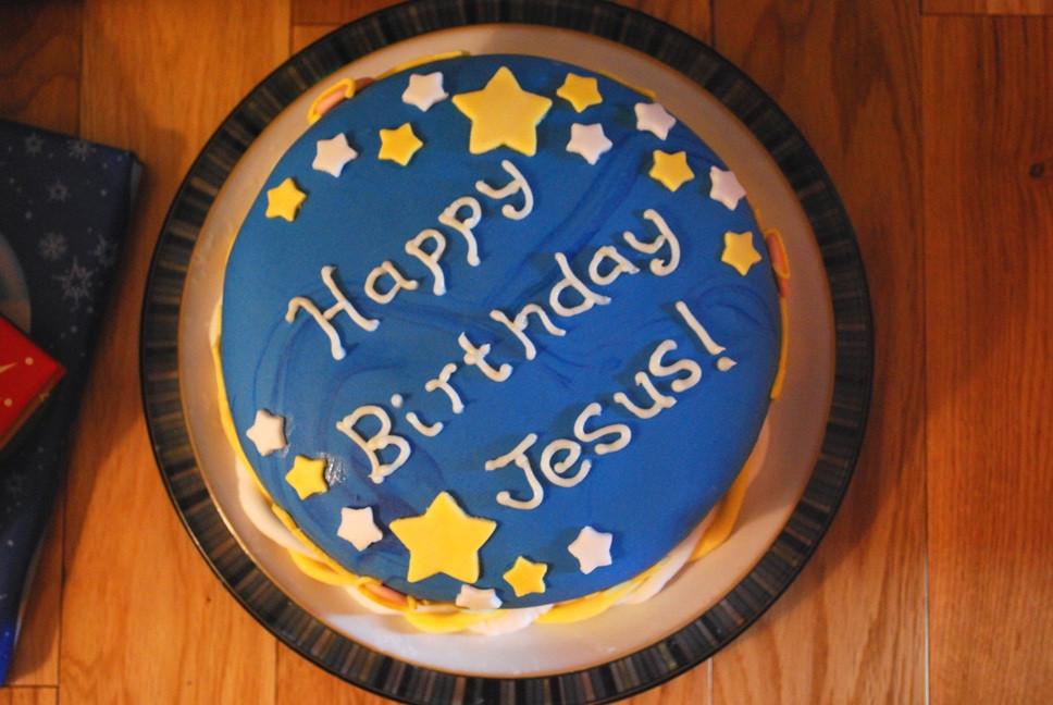 Birthday Cake For Jesus  Happy Birthday Jesus