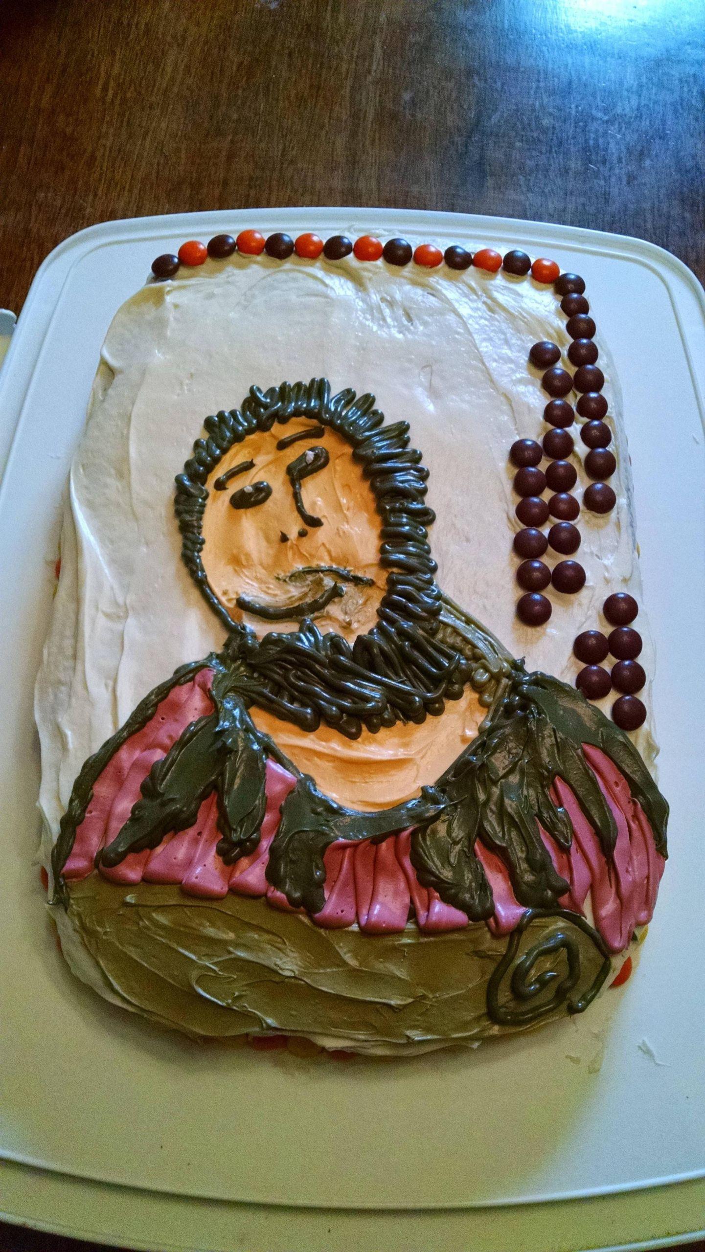 Birthday Cake For Jesus  My boyfriend said he wanted a Reese s Pieces Rhesus Jesus