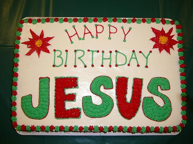 Birthday Cake For Jesus  Christmas Reflections Did Jesus Ever Celebrate His
