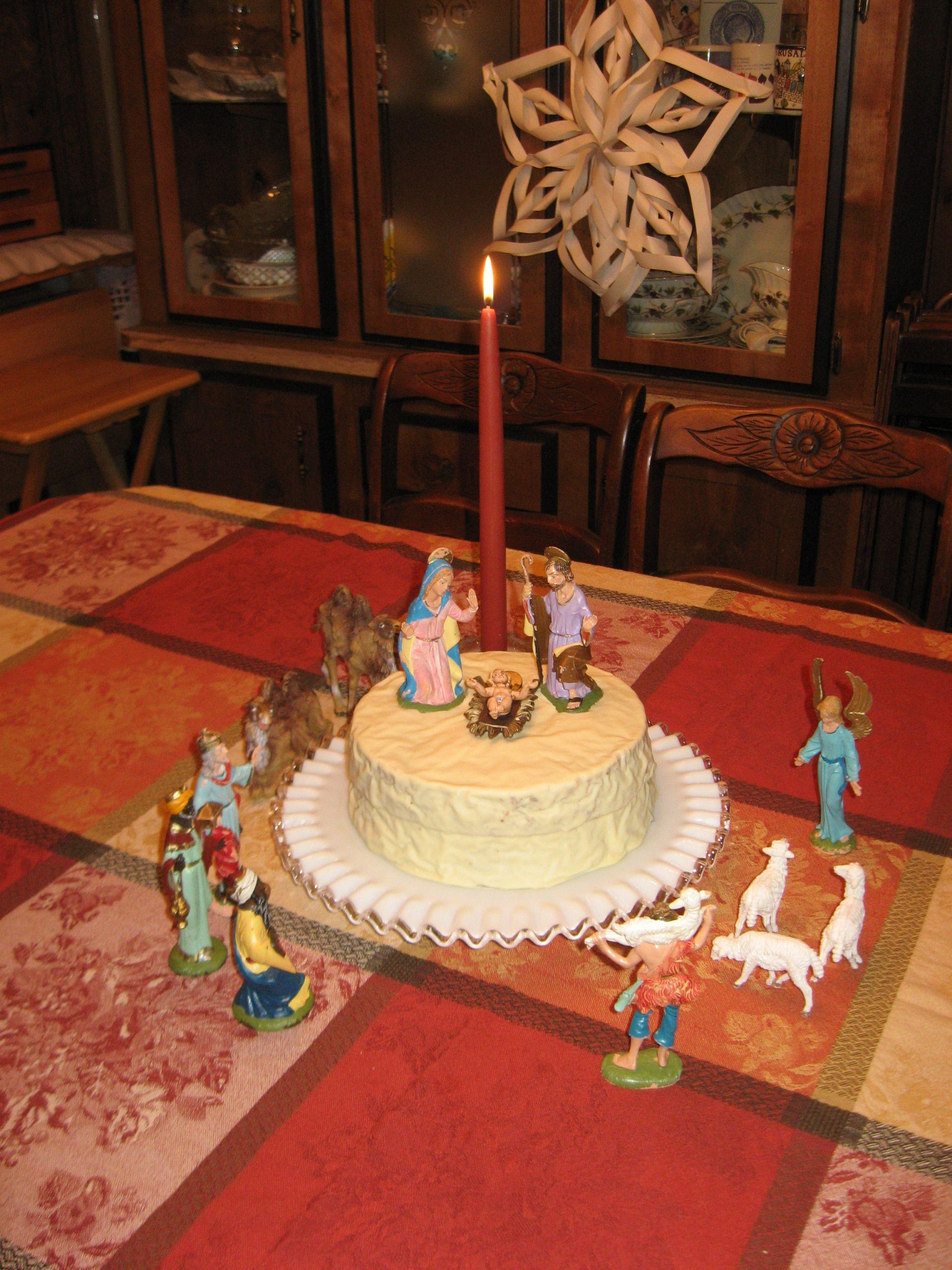 Birthday Cake For Jesus  Home for the Holidays – Baby Jesus Birthday Cake