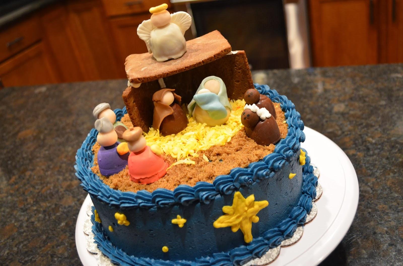 Birthday Cake For Jesus  Cake Mama Happy Birthday Jesus
