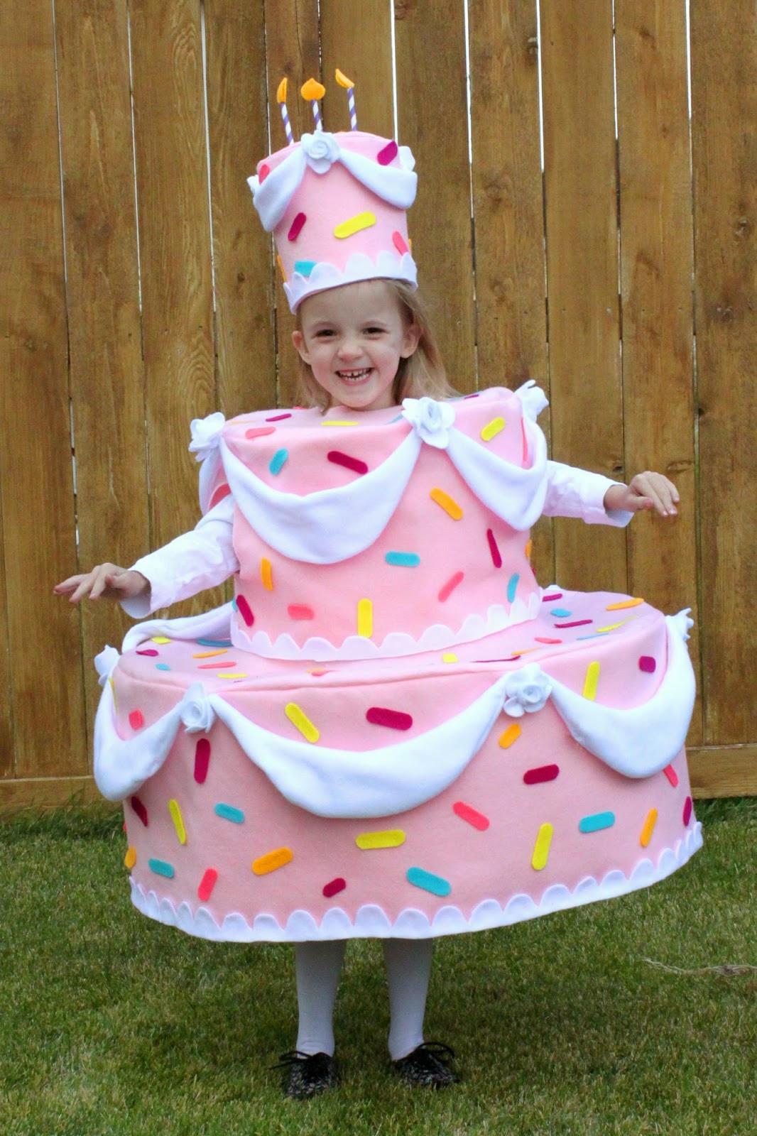 Birthday Cake Halloween Costume  creatively christy Halloween Costumes 2013