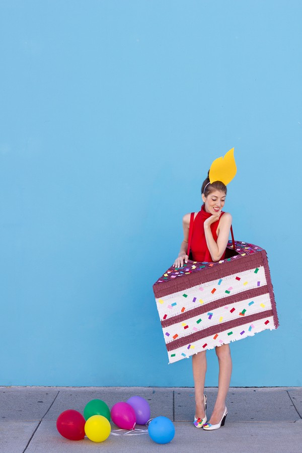 Birthday Cake Halloween Costume  DIY Halloween Costumes for Teens A Little Craft In Your