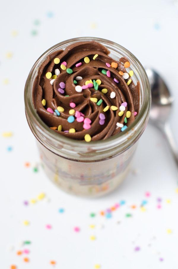 Birthday Cake In A Jar  Birthday Cakes in a Jar