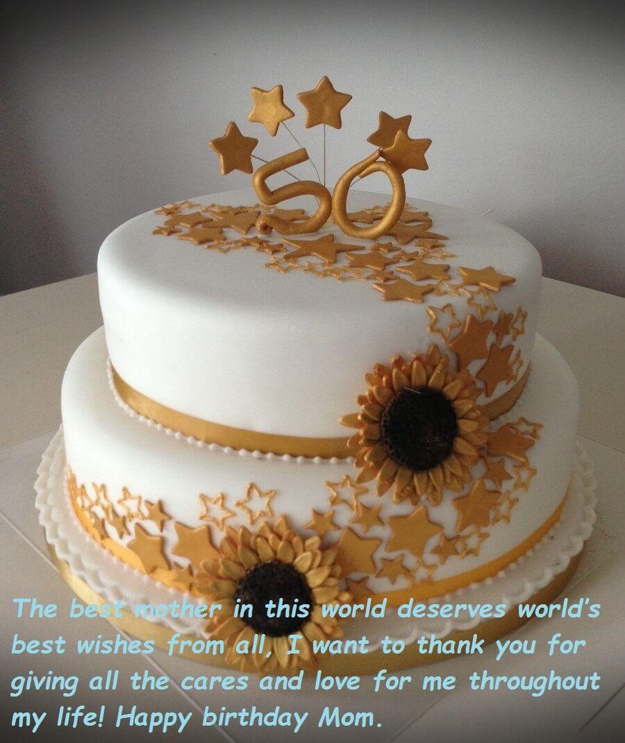Birthday Cake Wishes  Birthday Cake Wishes For Mom