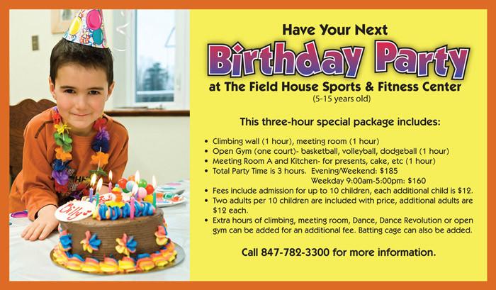 Birthday Party Halls For Rent  Indoor Room Rentals – Waukegan Park District