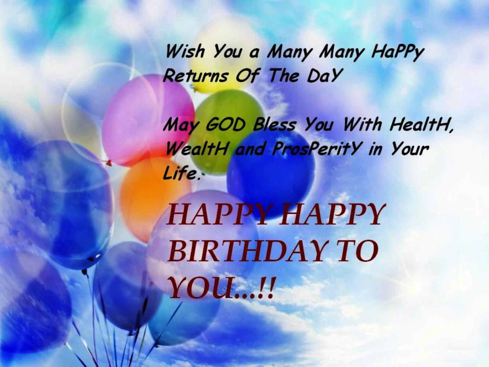 Birthday Wish Quotes  50 Birthday Wishes and Messages with Quotes