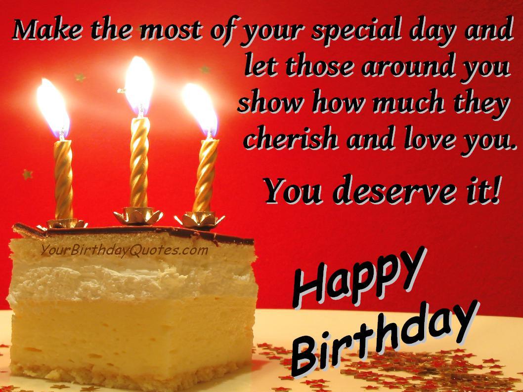 Birthday Wish Quotes  Birthday Quotes