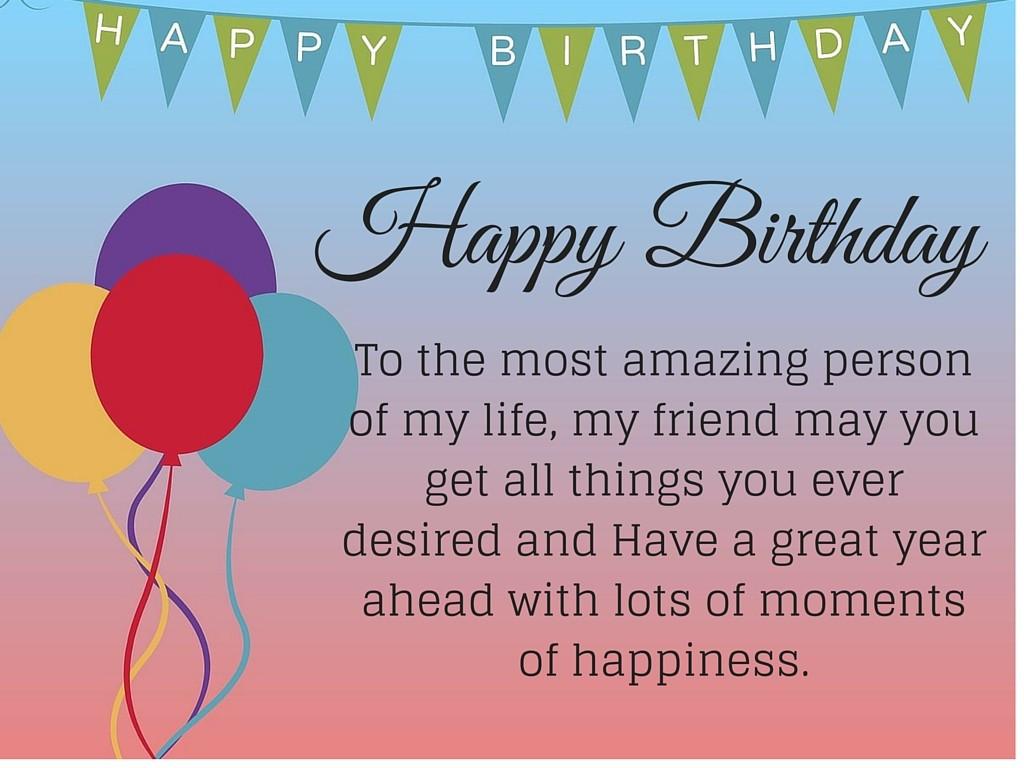 Birthday Wish Quotes  Best Happy Birthday Quotes For Friend Happy Birthday Friend