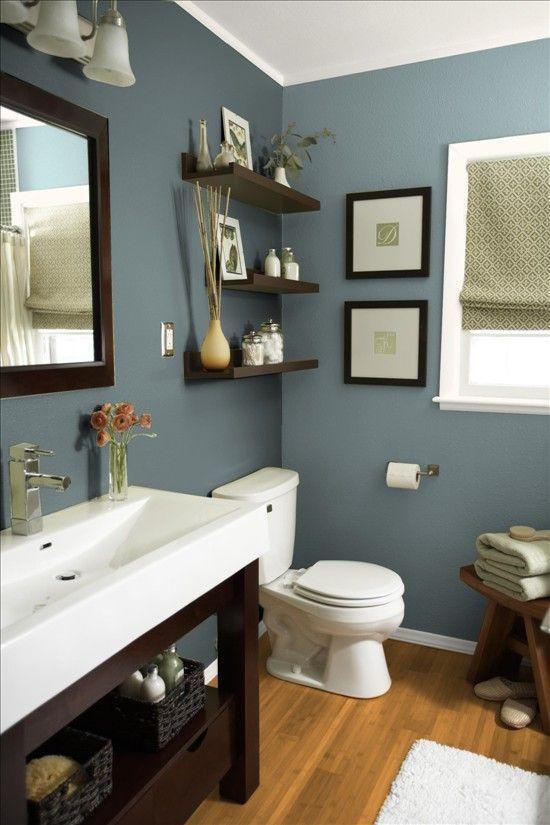 Blue Bathroom Walls  11 Beautiful Blue Bathrooms