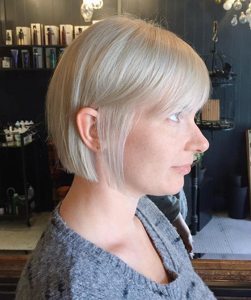 Bob Hairstyles For Fine Hair  Fine Thin Blonde Hairstyles