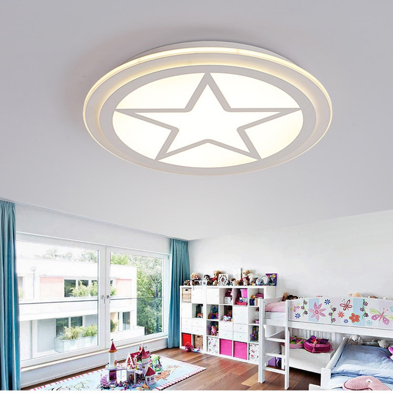 Boys Bedroom Lights  Aliexpress Buy led ceiling light Children bedroom