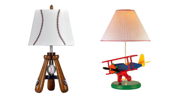 Boys Bedroom Lights  20 Boys Table Lamps for Bedroom