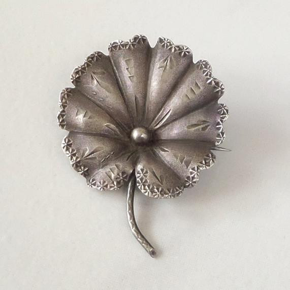 Brooches Aesthetic  Rare Aesthetic Antique Victorian Water LILY Brooch
