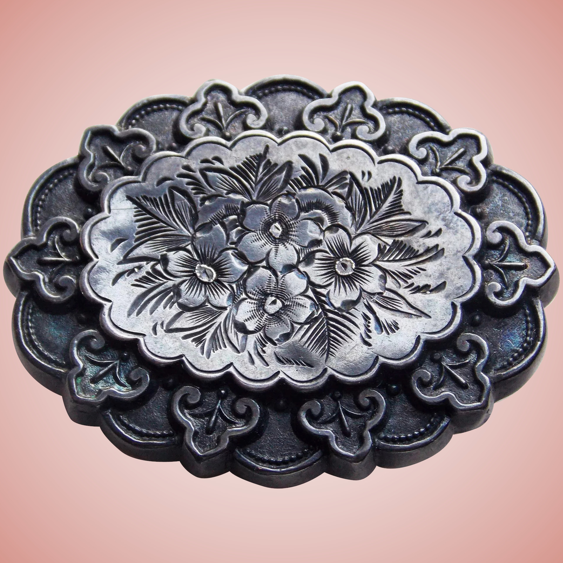 Brooches Aesthetic  Fabulous VICTORIAN Sterling Aesthetic Antique Brooch