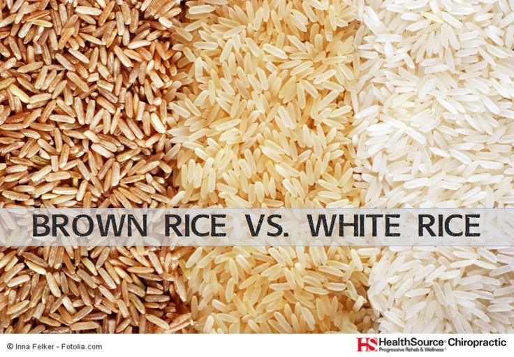 Brown Vs White Rice  Brown Rice VS White Rice Chiropractic