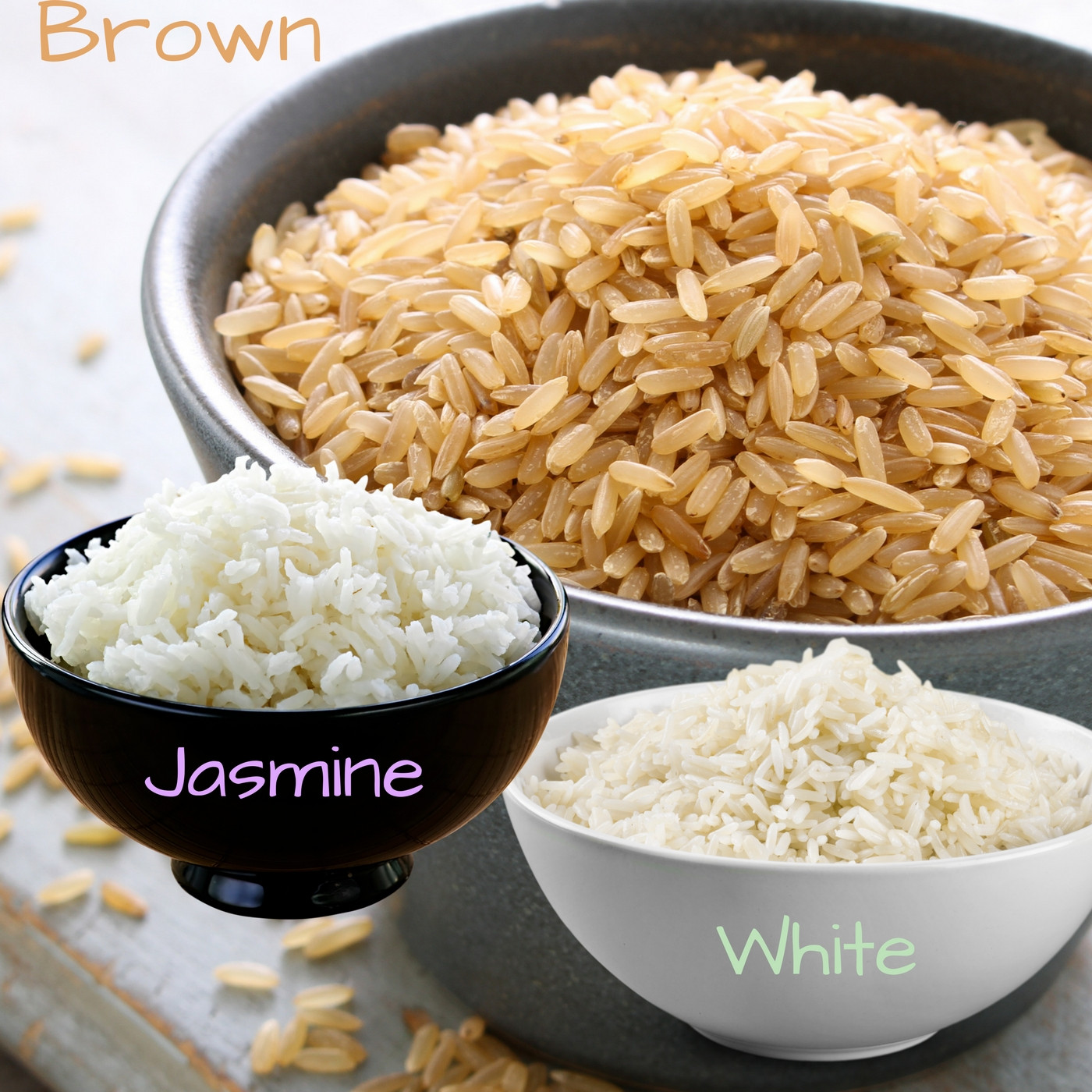 Brown Vs White Rice  Brown Rice VS White Rice Which e is Really Better For