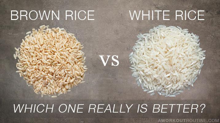 Brown Vs White Rice  Brown Rice Vs White Rice CrossFit Sweat Shop Walnut Creek