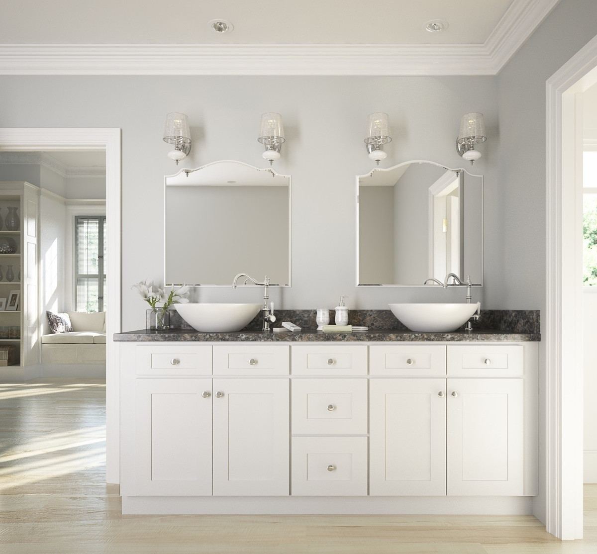 Cabinets To Go Bathroom Vanity  How To Update Your Bathroom A Bud – The RTA Store