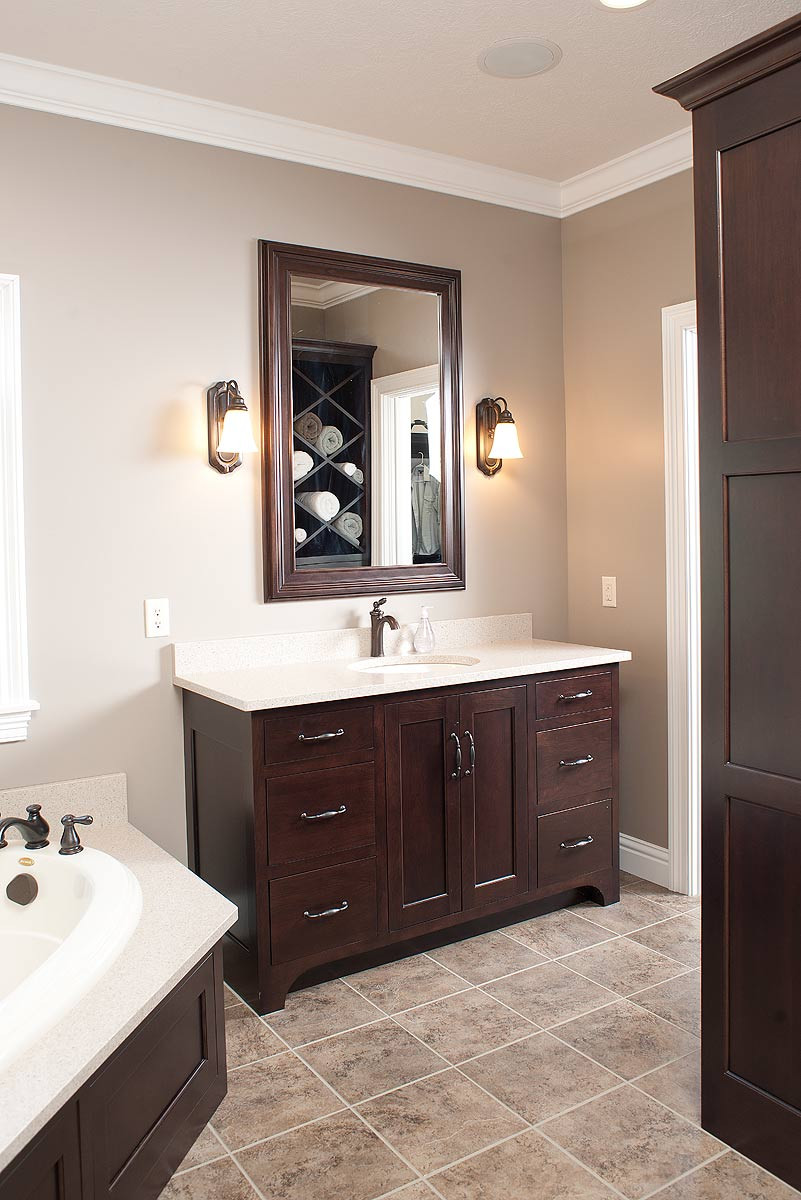 Cabinets To Go Bathroom Vanity  Mullet Cabinet — Custom Designed Bath