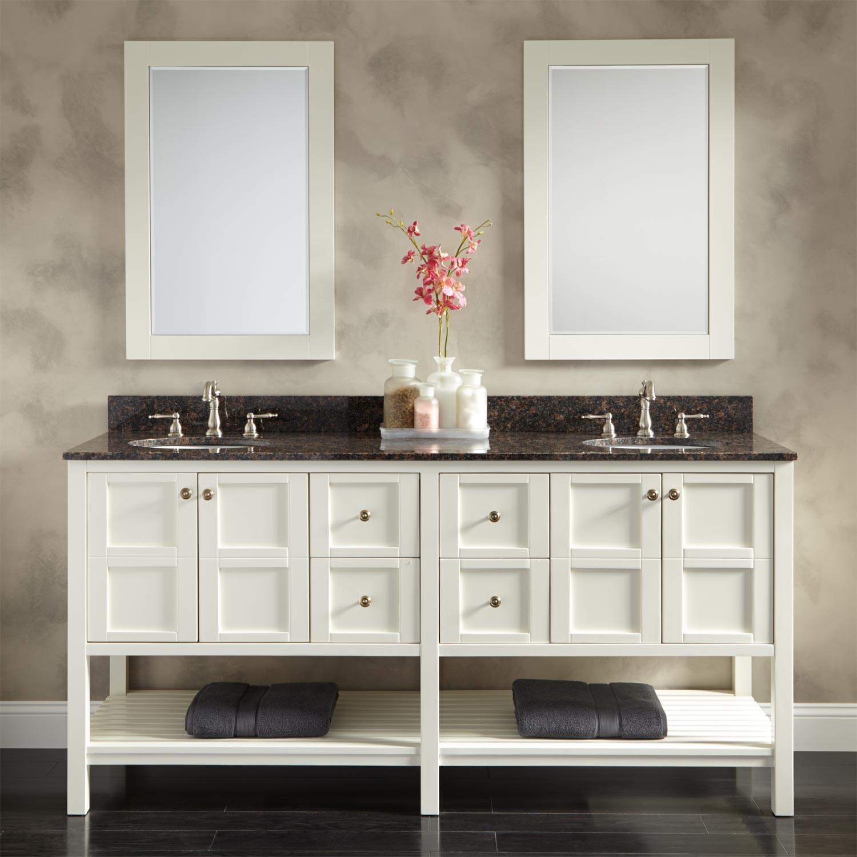 Cabinets To Go Bathroom Vanity  7 Creative Ideas for Bathroom Towel Storage MidCityEast